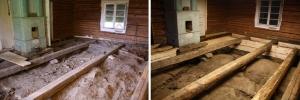 Rekonstruoitu multapenkki - Rekonstruerad mullbänk
