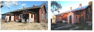 Jukisivun restaurointi - Restaurering av fasad